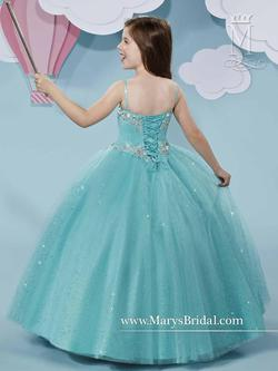 Style F507 Mary's Blue Size 00 Flower Girl Ball gown on Queenly