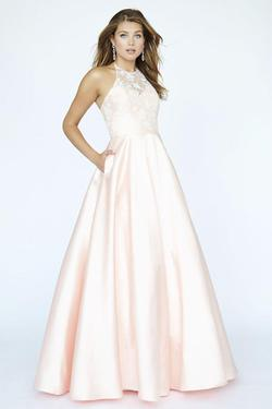 Style E90002 Kimberly's Exclusive White Size 14 Pockets Silk A-line Dress on Queenly