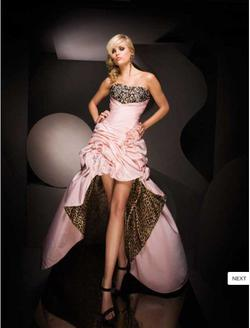 Tony Bowls Pink Size 6 High Low Fun Fashion Ball gown on Queenly