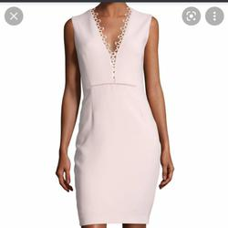Elie Tahari White Size 2 Party Sorority Formal Light Pink Cocktail Dress on Queenly