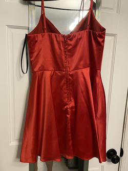 Windsor Red Size 2 Flare A-line Dress on Queenly