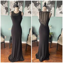 Jovani Black Size 0 Wedding Guest Pageant Straight Dress on Queenly
