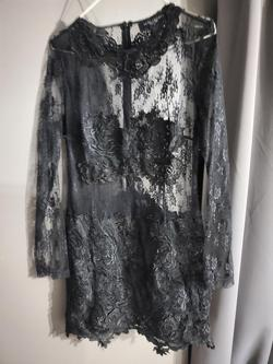 AKIRA Black Size 8 Cocktail Dress on Queenly