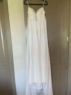 Sherri Hill White Size 0 Cape Wedding Short Height A-line Dress on Queenly
