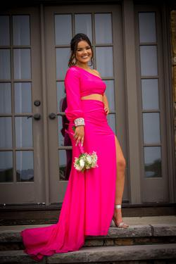 Sherri Hill Pink Size 6 Straight Dress on Queenly
