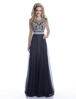 Style 16262 Envious Couture Black Size 20 Prom Pageant Straight Dress on Queenly