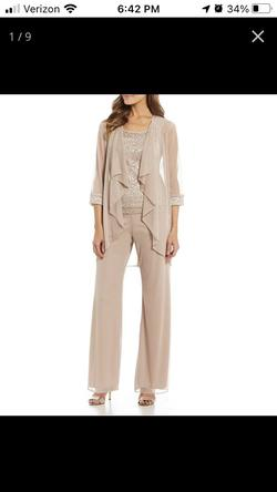 Nude Size 14 Jumpsuit Dress on Queenly