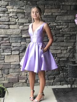 Sherri Hill Pink Size 0 Homecoming Cocktail A-line Dress on Queenly