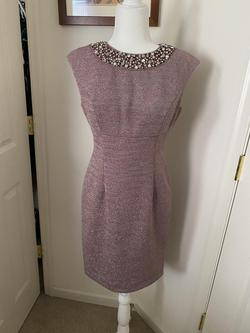 Eliza J Pink Size 6 Sorority Formal Interview A-line Dress on Queenly