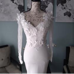 Portia & Scarlett White Size 00 Wedding Mermaid Dress on Queenly