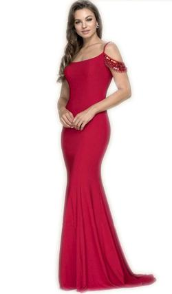 Nox Anabel Red Size 10 Mermaid Dress on Queenly