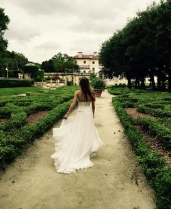 Jovani White Size 2 Wedding Side Slit Short Height Mermaid Dress on Queenly
