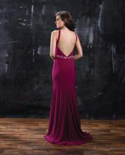 Style 1321 Nina Cancci  Pink Size 8 Jewelled Halter Straight Dress on Queenly