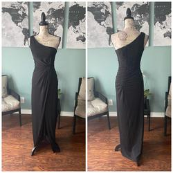 Jovani Black Size 0 Bridesmaid Pageant Straight Dress on Queenly
