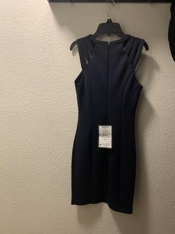 Guess Blue Size 4 Straight Dress on Queenly