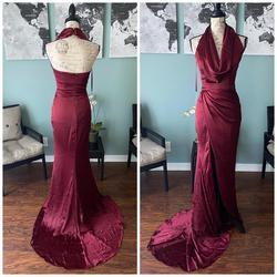 Portia & Scarlett Red Size 2 Burgundy Bodycon Straight Dress on Queenly