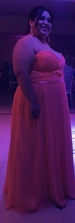 Orange Size 26 Straight Dress on Queenly