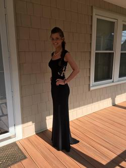 Sherri Hill Black Size 0 Straight Wedding Guest A-line Dress on Queenly
