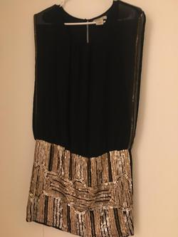 Arden  Black Size 4 Mini Cocktail Dress on Queenly