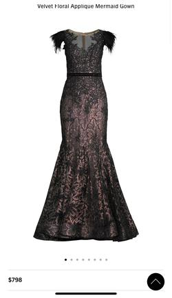 Mac Duggal Black Size 16 Prom Mermaid Dress on Queenly