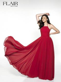 Style 19062 Blush  Red Size 8 A-line Dress on Queenly
