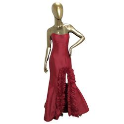 Tarik Ediz Red Size 8 Mermaid Dress on Queenly