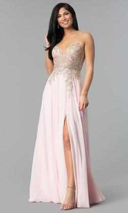 Jovani Pink Size 2 A-line Dress on Queenly