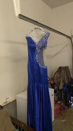 Lolliprom dresses Blue Size 8 Train Dress on Queenly