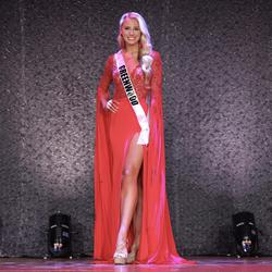 Sherri Hill Red Size 6 Pageant Jersey Side slit Dress on Queenly