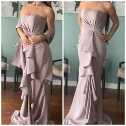 Jovani Purple Size 2 Pageant Silk Straight Dress on Queenly