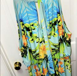 Multicolor Size 16 Straight Dress on Queenly