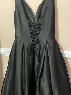 Clarisse Black Size 0 A-line Dress on Queenly