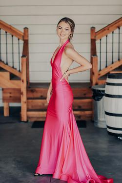 Jessica Angel #758 Pink Size 00 Prom Straight Dress on Queenly
