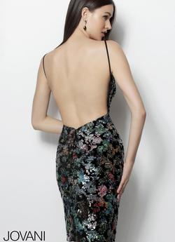 Jovani Multicolor Size 4 Cocktail Dress on Queenly