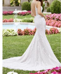 Martin Thornberg White Size 8 Wedding Mermaid Dress on Queenly