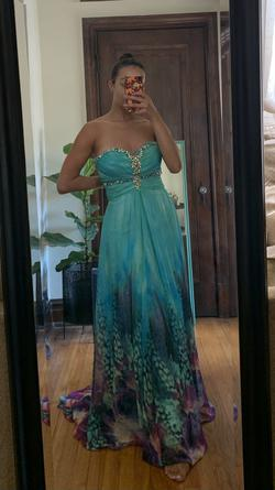 Tony Bowls Multicolor Size 6 Prom Wedding Guest Straight Dress on Queenly