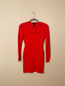 BCBG Red Size 0 Cocktail Dress on Queenly