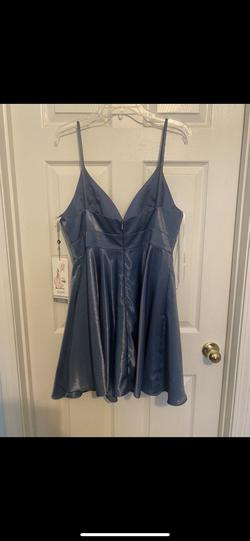 Alyce Paris Blue Size 12 Prom A-line Dress on Queenly