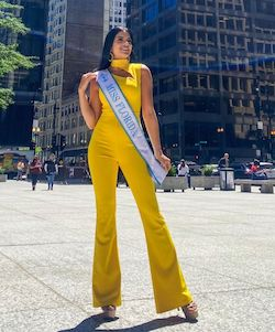 Fernando Wong Yellow Size 4 Jumpsuit Dress on Queenly