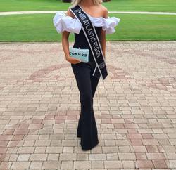 Ashley Lauren Black Size 4 Jumpsuit Dress on Queenly