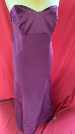 Oleg Cassini Red Size 22 Bridesmaid Sequin Mermaid Dress on Queenly