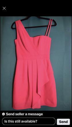 BCBGMAXAZRIA Pink Size 0 Cocktail Dress on Queenly
