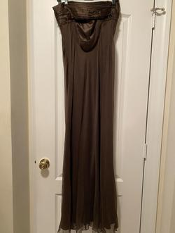 Laundry Gold Size 6 Wedding Guest Bridesmaid Straight Dress on Queenly