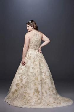 Gold Size 18 Train Dress on Queenly