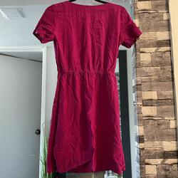 Amanda uprichard Hot Pink Size 4 Short Height Boat Neck A-line Dress on Queenly