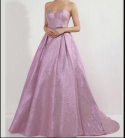 Studio 17 Purple Size 16 Belt A-line Dress on Queenly