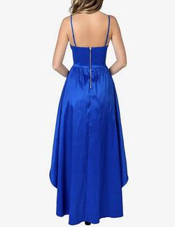 B. Darlin Blue Size 16 A-line Dress on Queenly