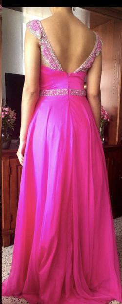 Sherri Hill Pink Size 4 Prom Pageant Tulle A-line Dress on Queenly