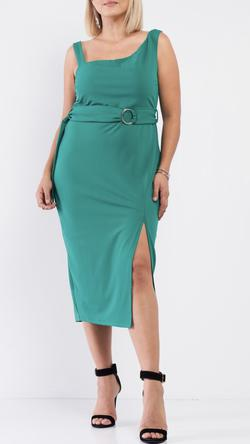 Green Size 14 Cocktail Dress on Queenly