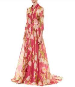 Carolina Herrera Pink Size 12 Prom Wedding Guest Belt Ball gown on Queenly